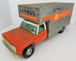 100 Toy Moving Truck Vintage Nylint Pressed Steel U Haul Box 19 Inches
