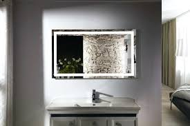 wall mounted lighted makeup mirror bathroom mirror wall mounted