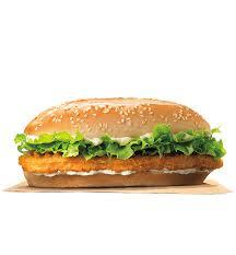 Sofa King Burger Menu by Grilled Chicken Sandwich Burger King