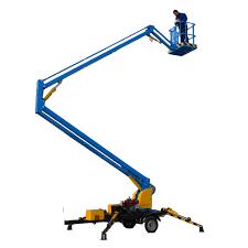 100 Truck Mounted Boom Lift Tree Trimming Man Articulating Arm Aerial Work Platform