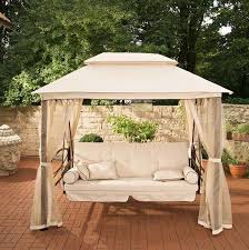 patio swing canopy replacement semi circle outdoor swing powder
