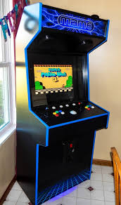 X Arcade Mame Cabinet Plans by Tredog U0027s First Full Height Slim Cabinet Cabinets And Projects