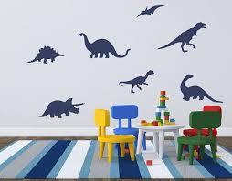 Dinosaur Wall Decals Boy Bedroom Decor By TweetHeartWallArt
