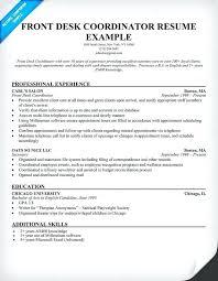 Office Secretary Resume Medical Front Desk Dental Receptionist Sample Law Firm