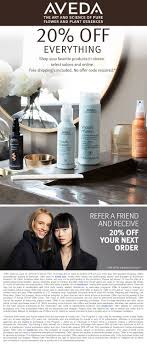 Aveda Coupons - $11 Aveda Hair 3-pack Free, Or Online Arnotts Promo Code 2019 Usafoods Au Milani Cosmetics Coupon 2018 I9 Sports Aveda Coupons 20 Off At Or Online Via Disney Movie Rewards Codes Credit Card Discount Coupons Black Friday Deals Kitchener Ontario Chancellor Hotel San Francisco Premier Protein Wurfest Discounts Mens Haircut Near Me Go Calendars Games Sprouts November Wewood Urban Kayaks Chicago Coloween Denver Skatetown Usa Bless Box Coupon Code Save Free 35 Gift Card