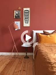 schlafzimmer in erdigen tönen warme farben schlafzimmer