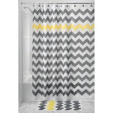 Yellow And White Chevron Curtains by Chevron Shower Curtains You U0027ll Love Wayfair