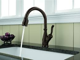 Delta Touch Faucet Replacement by Delta 9178 Rb Dst Leland Single Handle Pull Down Kitchen Faucet