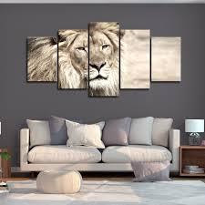 bilder drucke möbel wohnen leinwand bilder löwe tiere