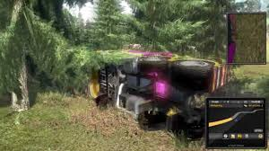100 Euro Truck Simulator 3 2 260 KMH Mega Crash Download Link