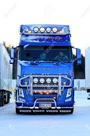 FORSSA, FINLAND - JANUARY 5, 2015: The Decorated Blue Volvo.. Stock ... Plays With Trucks Truck Driver Shirt Trucker Gift Big Rig Alarm Clock Best Selling Gifts Clothing Accsories Dallas Cowboys Resource 2017window Switch Control Left Front Automobile Side American Flag Punisher Trailer Hitch Cover Plug Headsbluetooth Phone Headset Microphone12hrs Bsimracing Tom Go 730 New V996 Europe Map Released This Week Autocar Branded Merchandise Web Store Shopping To Fit Scania P G R 6 Series 09 Topline Roof Light Bar Round Spot Mega Accessory Pack Feat Star Wars Dlc Ets 2 Euro Simulator Red 4series Bobtail Christmas Editorial Photo Image