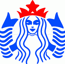 How To Draw The Starbucks Logo Step 6