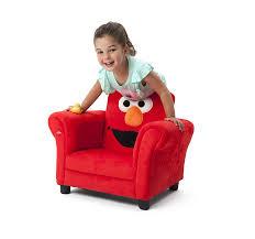 Elmo Toddler Bed Set by Amazon Com Delta Children Upholstered Chair W Sound Elmo Sesame