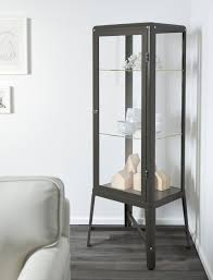 Crate And Barrel Margot Sofa by 10 Easy Pieces Steel Framed Display Cabinets Remodelista