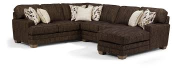 Flexsteel That s My Style b Customizable b 3 Piece Sectional