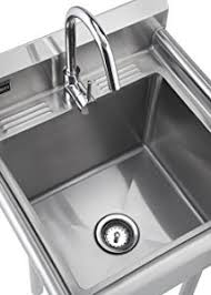 Stainless Steel Utility Sink With Legs by Amazon Com Trinity Tsl 0301 Stainless Steel Utility Sink