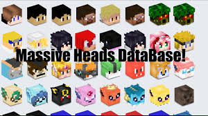 How to Minecraft FNAF Heads Massive Head DataBase Easy