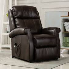 Prolounger Wall Hugger Lift Chair by Faux Leather Lift Chairs You U0027ll Love Wayfair