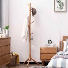 buche kleidung rack hut stand schlafzimmer stehend regal