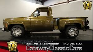 100 Chevy Trucks For Sale In Indiana 1976 Chevrolet C10 Stepside Pickup Truck Louisville Showroom