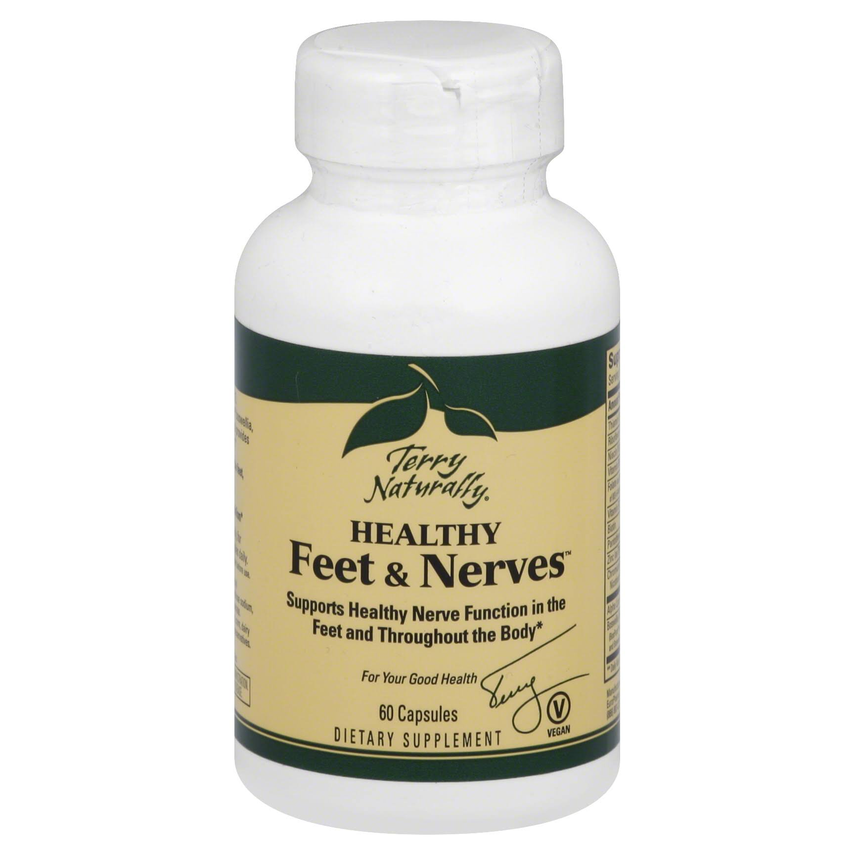 Terry Naturally Healthy Feet and Nerves - 60 Capsules