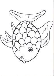 Pretty Design Ideas Rainbow Fish Coloring Page Preschool Sheet To Print For Free