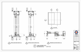 Sliding Closet Door Cad Detail Designs