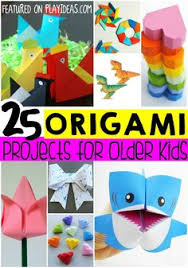 25 Easy Origami Ideas For Bigger Kids Hand Crafts