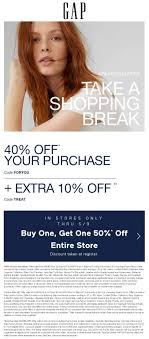 Gap Coupons - 40-50% Off Everything Online Today At Gap Via ...