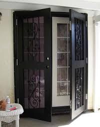 Double Door Security Screen Doors cormansworld