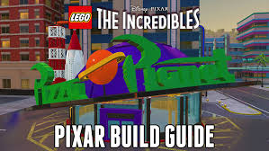 100 Pizza Planet Truck Incredibles Pixar Family Builds Guide LEGO The Bricks To