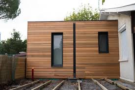 extension chambre extension garage bois toit plat collection et en homewreckr co