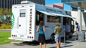 Hey Students! Starbucks Tests Mobile Coffee Trucks On 3 College ... Towability Mega Mobile Catering External Vending Van Fully Fitted Mobilecoffeetruck Gorilla Fabrication China Wooden Material Coffee Truck Photos Pictures Made Apollos Shop Park And Service At Parking Zone Trucks Drinker Hot Bikes For Sale Cart Trike Business Food Vector Mockup Advertising Cporate Stock Royalty Spot The And Beverage Fxible Mobile Solution In Miami Truckmobile Conceptsvector Illustration