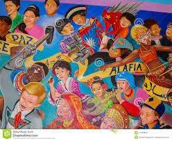 Denver International Airport Murals Artist by Children Of The World Dream Of Peace Editorial Photography Image