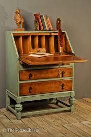 Beautifully upcycled bureau leaving some of the original wood