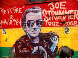 Joe Strummer Mural London Address by Joe Strummer The Future Is Unwritten Movie Review