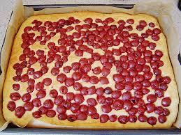 kirsch quark kuchen vom blech