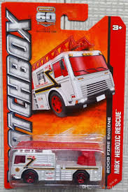 100 Matchbox Fire Trucks Silver Truck Model Toy 95 OF 120 UK 2019 From
