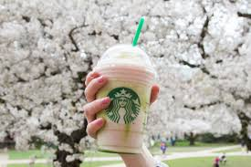 New Starbucks Cherry Blossom Frappuccino Celebrates Spring