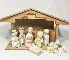 Vintage Wood Nativity Stable Creche Manger Music Box Set, 11 ... Was Jesus Really Born In A Stable Nativity Scene Pictures Hut With Ladder And Barn Online Sales On Holyartcom Scenes Nativity Sets Manger Display Yonderstar Handmade Wooden Opas Scene Christmas Set Outdoor Manger Family Wooden Setting House Red Roof Trough 2235x18 Cm For Vintage Wood Creche Religious Amazoncom Fontani 5 54628 Stable Fountain 28x42x18cm Fireplace 350x24 Bungalow Like Neapolitan 237x29cm