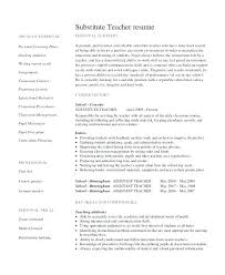 Resume Samples For Teachers In Word Format Packed With Teacher Job Example
