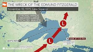 What Time Did The Edmund Fitzgerald Sank by 40th Anniversary Of Wreck Of The Edmund Fitzgerald