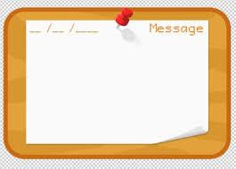 Blank Bulletin Board Template PSD