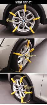 2016 New Emergency Plastic Snow Chains For Car Escape Tpu Chain ...
