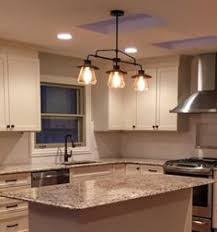 stylist and luxury rubbed bronze kitchen ceiling lights