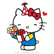 Hello Kitty Happy Birthday Clipart