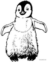 Penguin Coloring Pages Free
