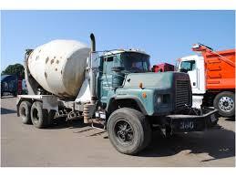 100 Concrete Pump Truck For Sale 2000 MACK DM690S Mixer Auction Or
