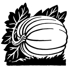 Vintage Thanksgiving Graphics – Pumpkin on Vine