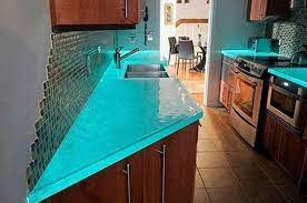 104 Glass Kitchen Counter Tops Modern Top Ideas Latest Trends In Decorating S